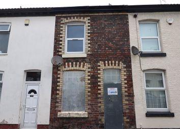 Thumbnail 1 bed terraced house for sale in Menai Street, Birkenhead, Merseyside