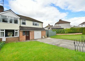 Thumbnail 4 bed semi-detached house for sale in Langley Road, Chippenham