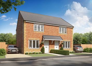 Thumbnail 2 bed semi-detached house for sale in Plot 165, Cork, Moorside Place, Valley Drive, Carlisle
