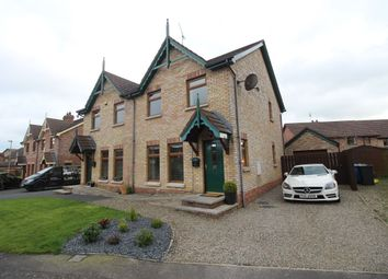 Thumbnail 3 bedroom semi-detached house for sale in Stonebridge Lane, Conlig, Bangor