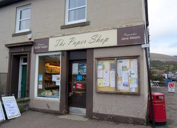 Thumbnail Retail premises for sale in Bridge Street, Dollar, Clackmannanshire