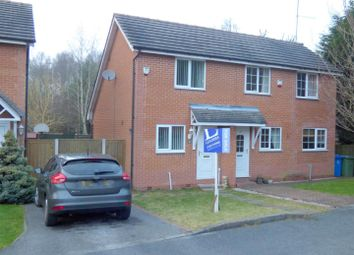 Thumbnail 1 bedroom semi-detached house for sale in Dunwoody Close, Mansfield