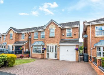 Thumbnail 4 bed detached house for sale in Highfields Park, Cheslyn Hay, Walsall