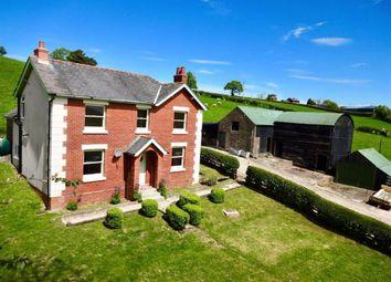 Thumbnail 4 bedroom farm for sale in Bryntawel, Llanfair Caereinion, Welshpool, Powys