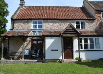Thumbnail 2 bed cottage to rent in Vicarage Lane, Wookey, Wells