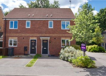 Thumbnail 3 bed semi-detached house for sale in Cherry Blossom Court, Lincoln
