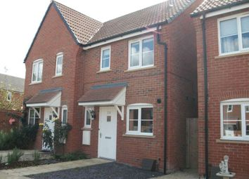 Thumbnail 2 bed semi-detached house to rent in Harrier Drive, Didcot