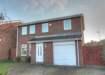 Thumbnail 4 bedroom detached house for sale in Nuneaton Way, North Walbottle, Newcastle Upon Tyne