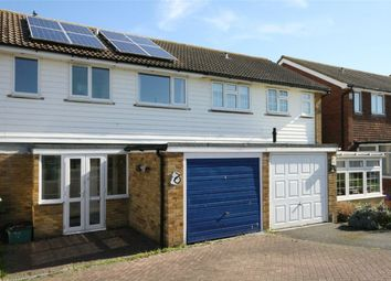 Thumbnail 3 bed terraced house for sale in Ridgewood Gardens, Bexhill On Sea