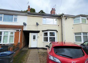 Thumbnail 3 bed terraced house for sale in Hythe Grove, Yardley, Birmingham