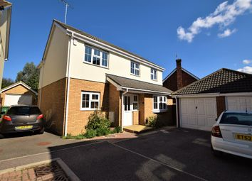 Thumbnail 4 bed detached house to rent in Castleden Way, Dunmow