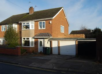 Thumbnail 3 bed semi-detached house to rent in Fleetcroft Road, Upton, Wirral