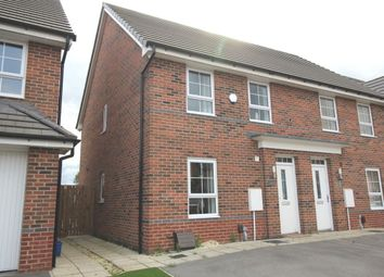 Thumbnail 3 bed semi-detached house to rent in Popular Mews, Doncaster