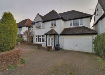 Thumbnail 4 bed detached house for sale in Woodcrest Road, Purley