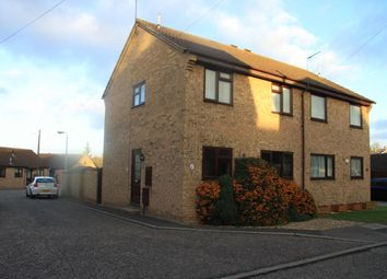 Thumbnail 3 bed terraced house to rent in School Meadow, Stowmarket, Suffolk