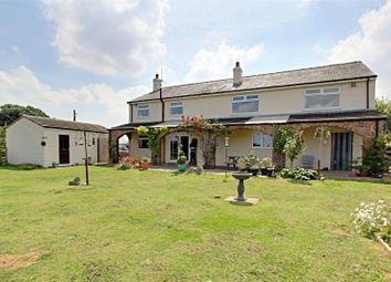 Thumbnail 5 bed detached house for sale in East Lambwath Road, Withernwick, Hull, East Yorkshire