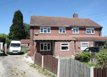 Thumbnail 3 bed semi-detached house to rent in Burntwood Crescent, South Kirkby, Pontefract