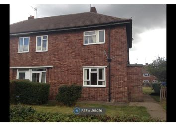 Thumbnail 3 bed semi-detached house to rent in Sookholme Drive, Mansfield