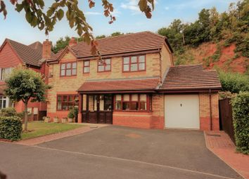 Thumbnail 4 bedroom detached house for sale in Hellier Drive, Wombourne