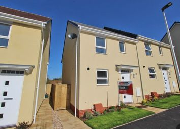 Thumbnail 3 bed semi-detached house for sale in Longwool Run, Cullompton