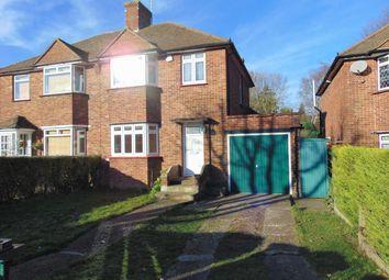 Thumbnail 3 bed semi-detached house for sale in Selsdon Park Road, South Croydon, Surrey