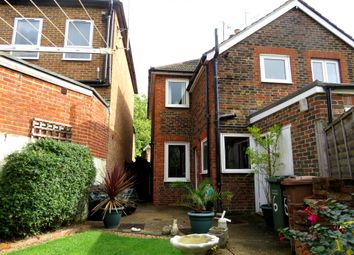 Thumbnail 2 bed semi-detached house for sale in Church Road, Horley