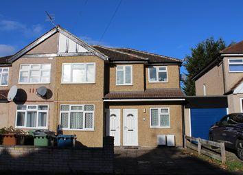 Thumbnail 3 bed flat to rent in Weald Lane, Harrow Weald