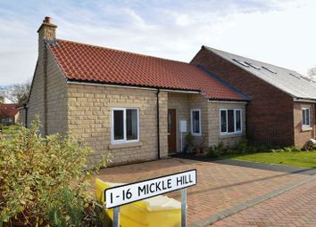 Thumbnail 2 bed bungalow for sale in Mickle Hill, Pickering