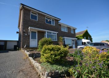 Thumbnail 3 bedroom semi-detached house for sale in Drury Close, Kessingland, Lowestoft