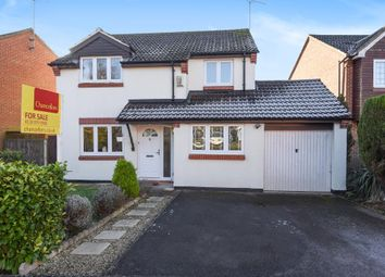 Thumbnail 4 bedroom detached house for sale in Barkham, Berkshire