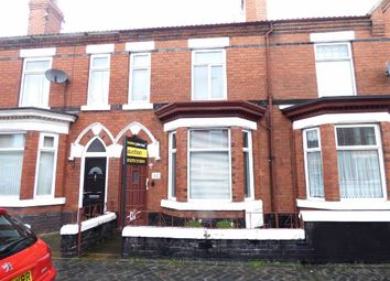 Thumbnail 2 bed terraced house for sale in Lawton Street, Crewe
