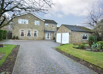 Thumbnail 5 bed detached house for sale in High Gables, Wigton Lane, Alwoodley, Leeds, West Yorkshire