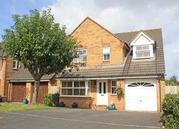 Thumbnail 4 bed detached house for sale in Candish Drive, Sherford, Plymouth