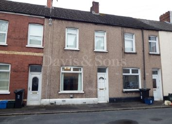 Thumbnail 3 bed terraced house for sale in Lilleshall Street, Newport, Gwent .