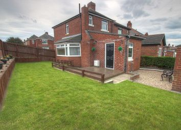 Thumbnail 2 bed semi-detached house for sale in Earls Drive, Denton Burn, Newcastle Upon Tyne
