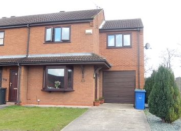 Thumbnail 3 bed end terrace house to rent in Warren Close, Gainsborough