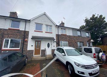 Thumbnail 3 bed terraced house for sale in Prescott Road, Carlisle, Cumbria