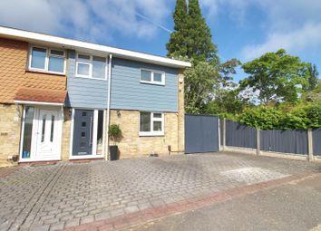 Thumbnail 2 bed end terrace house for sale in Markhams Chase, Laindon, Basildon