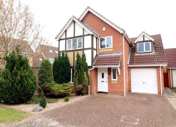 Thumbnail 4 bed detached house for sale in Thyme Close, Luton, Bedfordshire