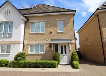 Thumbnail 4 bed semi-detached house to rent in Drapers Road, Enfield, Middlesex