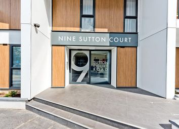 Thumbnail 1 bed flat for sale in Sutton Court Road, Sutton