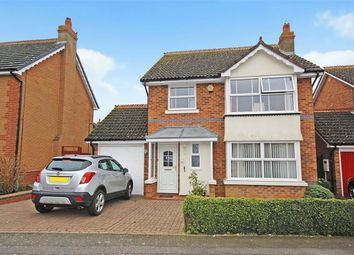 Thumbnail 4 bed detached house for sale in Stourhead Drive, East Hunsbury, Northampton