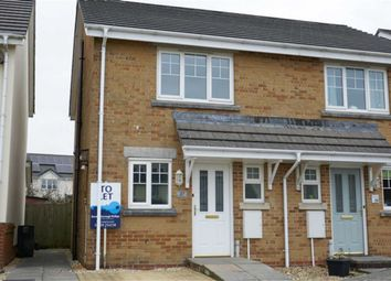 Thumbnail 2 bed semi-detached house to rent in The Willows, Chilsworthy, Holsworthy