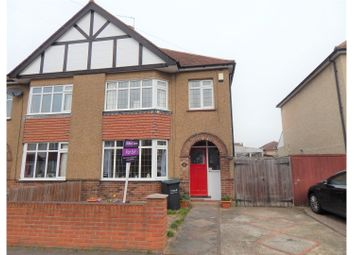 Thumbnail 3 bedroom semi-detached house for sale in Lime Avenue, Gravesend