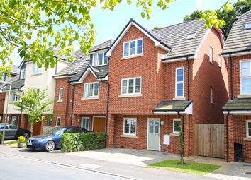 Thumbnail 3 bed end terrace house for sale in York Close, Byfleet