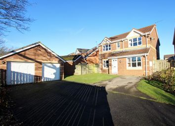 Thumbnail 4 bed detached house for sale in Brookes Rise, Langley Moor, Durham