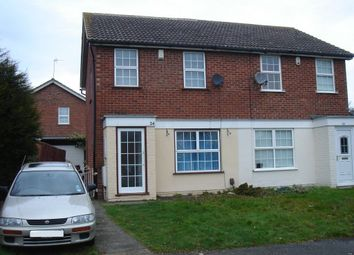 Thumbnail 3 bed property to rent in Gervase Square, Northampton