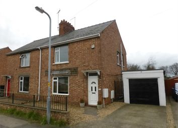Thumbnail 2 bed semi-detached house for sale in Manning Road, Bourne, Lincs