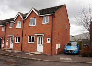 Thumbnail 3 bed town house for sale in Wylam Close, Chesterfield