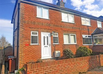 Thumbnail 3 bed semi-detached house for sale in Andrew Road, Tunbridge Wells, Kent
